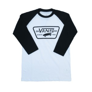 full patch raglan boys vn0002sfyb2 wht